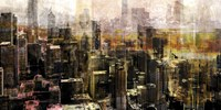 """Chicago Sky 10 by Sven Pfrommer - 36"""" x 18"""""""