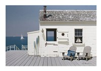Dock House Fine Art Print