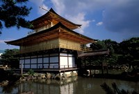 Golden Pavilion, Zen Temple, Kinkakuji, Kyoto, Japan Fine Art Print