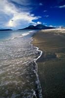 Asia, Indonesia, Krakatau Volcano Beach scene Fine Art Print