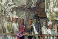Tau Tau, Effigies of Departed Nobles, Cave Tombs at Tampangallo Village,  Tana Toraja, Sulawesi, Indonesia by John & Lisa Merrill - various sizes