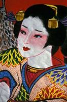 Geisha, Warrior Folk Art, Takamatsu, Shikoku, Japan by Dave Bartruff - various sizes - $34.49