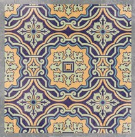 Floral Tile III Fine Art Print