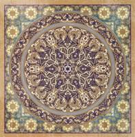 Floral Tile IV Fine Art Print