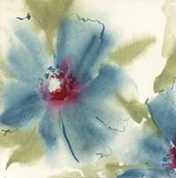 "Blue Cosmos I by Chris Paschke - 12"" x 12"""