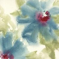 "Blue Cosmos II by Chris Paschke - 12"" x 12"""