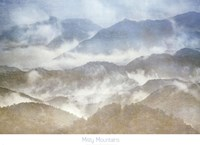 Misty Mountains Fine Art Print