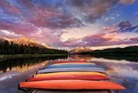 Kayaks Fine Art Print