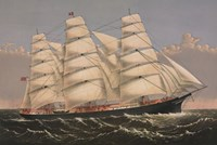 "Clipper Ship ""Three Brothers"", ca. 1875 Fine Art Print"