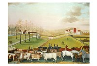 "The Cornell Farm, 1848 by Edward Hicks, 1848 - 19"" x 13"""