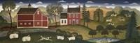 Farm Pederson Fine Art Print