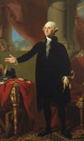 George Washington (Lansdowne Portrait), 1796 Fine Art Print