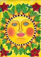 Christmas Sun Fine Art Print