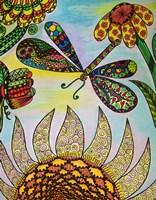 Dragonfly Paradise I Fine Art Print