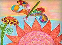 Dragonfly Paradise II Fine Art Print