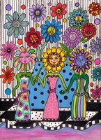 Flower Girls Fine Art Print