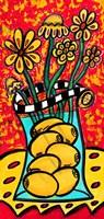 Lemon Vase Fine Art Print