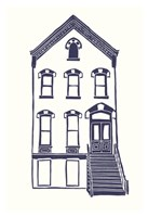 """Williamsburg Building 5 (Next Door on Maujer) by Live from bklyn - 13"""" x 19"""""""