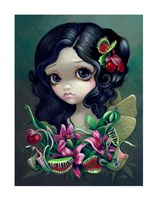 "Carnivorous Bouquet Fairy by Jasmine Becket-Griffith - 11"" x 14"""