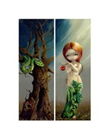Eve and the Tree of Knowledge Fine Art Print