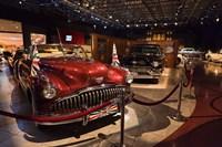 Jordan, Amman, Royal Automoblie Museum, Classic Car Fine Art Print