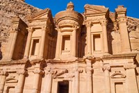 The Monastery or El Deir, Petra, UNESCO World Heritage Site, Jordan Fine Art Print