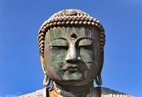 Japan, Kanagawa, Great Buddha, the bronze Daibutsu Fine Art Print