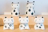 Souvenir Ceramic Cats, Kyoto, Japan by Rob Tilley - various sizes, FulcrumGallery.com brand