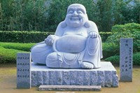 Statue at Kumano Nachi Shrine, Katsuura, Wakayama, Japan by Rob Tilley - various sizes, FulcrumGallery.com brand