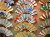 Folding Fan, Kyoto, Japan Fine Art Print