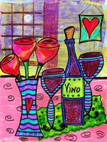 Moonlight & Wine Fine Art Print