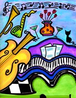Smooth Jazz Fine Art Print