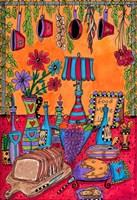 The Kitchen Island Fine Art Print