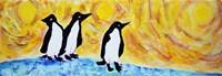 Starry Night Penguin II by Natalie Talocci - various sizes