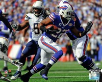 Fred Jackson 2014 Action Fine Art Print