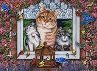 Window Kitties