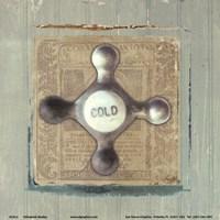 """Cold by Elizabeth Medley - 6"""" x 6"""""""