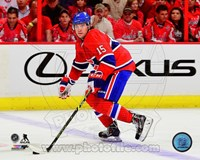 P.A. Parenteau 2014-15 Action Fine Art Print