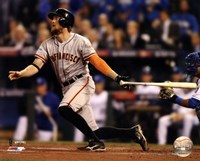Hunter Pence Home Run Game 1 of the 2014 World Series Fine Art Print
