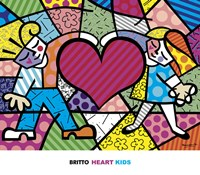 Heart Kids Fine Art Print