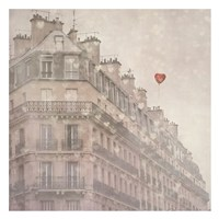 Heart Paris Fine Art Print