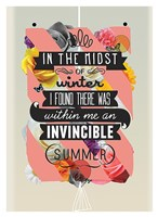 """The Invincible Summer by Kavan & Company - 27"""" x 37"""""""