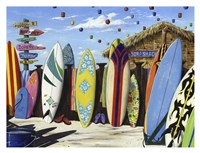 Surf Shack Fine Art Print