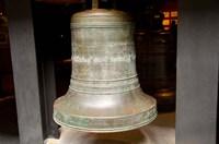 China, Macau Museum of Macau Bronze bell cast Fine Art Print