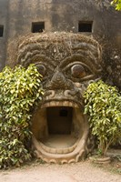 Xieng Khuan, Buddha Park, Laos by Tom Haseltine - various sizes