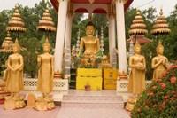 Buddha Image at Wat Si Saket, Laos Fine Art Print