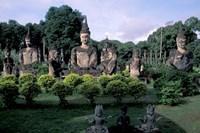 Buddhist Sculptures at Xieng Khuan Buddha Park, Vientiane, Laos by Keren Su - various sizes