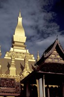 Pha That Luang (Great Stupa), Vientiane, Laos Fine Art Print