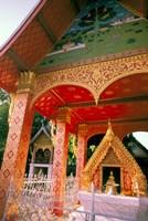 Sen Temple, Wat Sen, Luang Prabang, Laos Fine Art Print