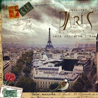 A Breath Of Paris Fine Art Print
